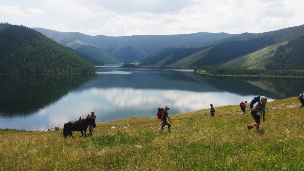Eight lakes Mongolia