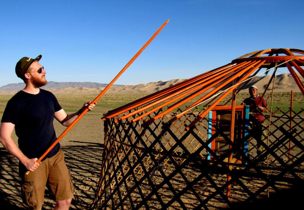 Yurt | Ger | Gobi Desert | Mongolia