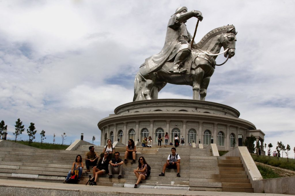 Chingis Statue | Mongolia