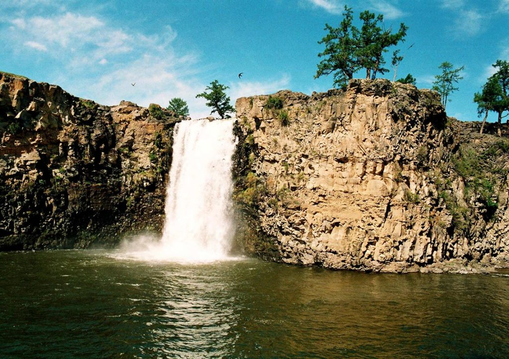 Orkhon waterfall | Central Mongolia |
