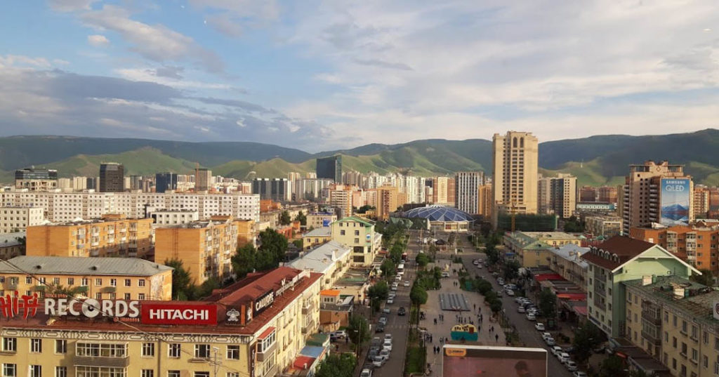 Downtown Ulan Bator