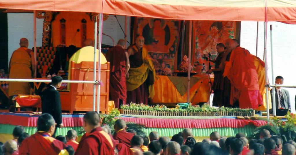 Dalai Lama in Mongolia