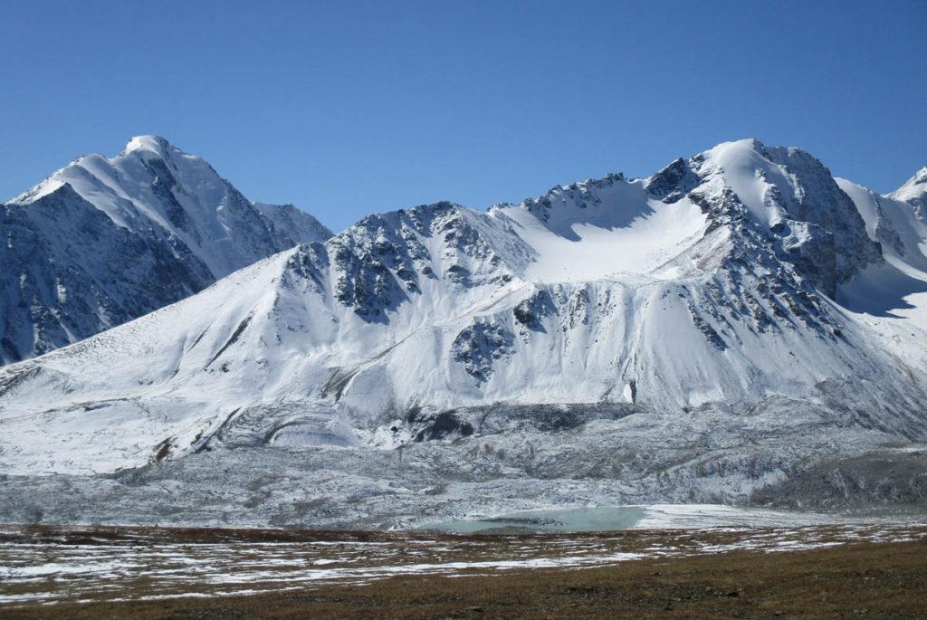 Altai Tavan Bogd Mountain