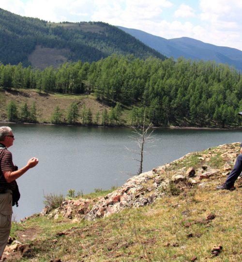 Trekking at Eight Lakes