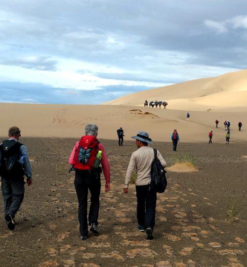 adventure trekking in the gobi desert