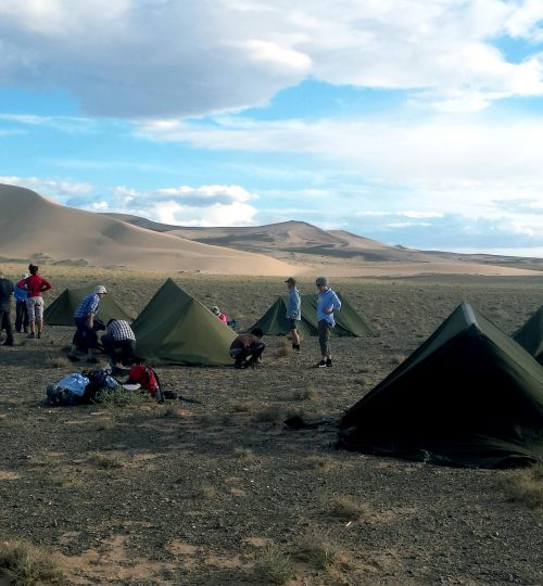 Gobi Desert and Eight lake trekking