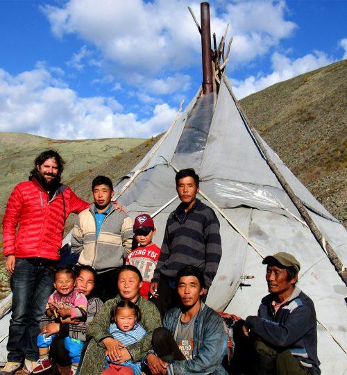 Tour to Reindeer, Mongolia