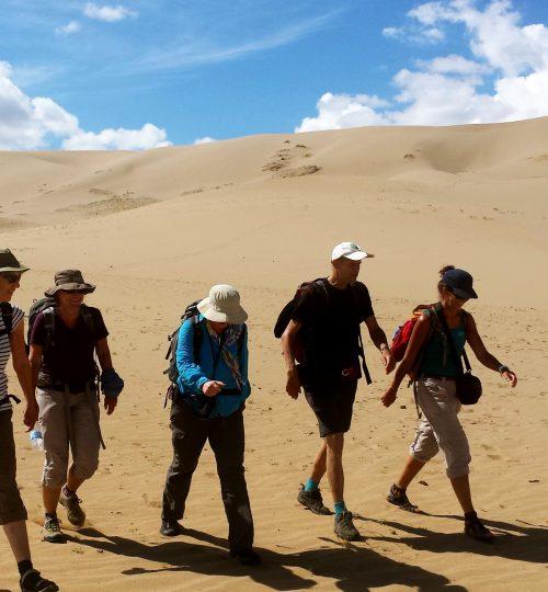 Trekking trip in the Gobi Desert